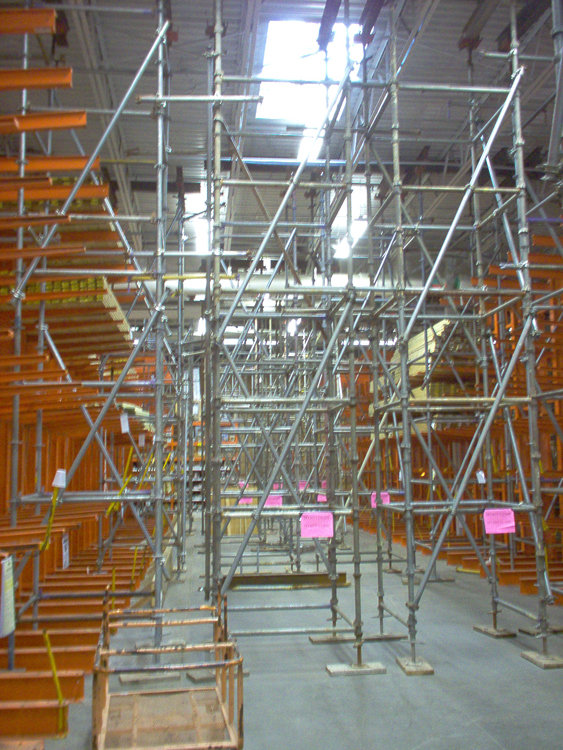 Engineering Services Lisenced In 49 States Scaffold